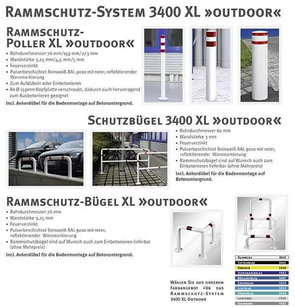 Rammschutz 3400 XL