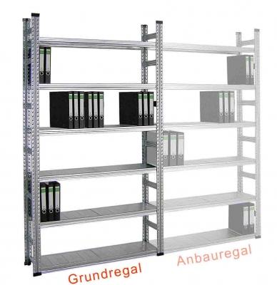 Akten-Grundregal SUPER 1 einseitig, FL 1050