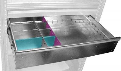 Schublade Breite 900 mm, Blendenhöhe 165 mm