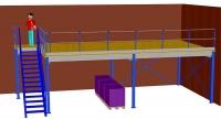 Angebot Lagerbühne PF 4 ca. 5X10 m