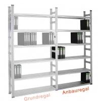 Akten-Anbauregal SUPER 1 einseitig, FL 600