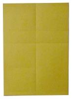 Papier für Scanner-Schiene, gelb