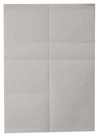 Papier für Scanner-Schiene, weiß