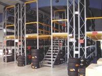 Preis-Beispiel Zweigeschoss Reifenregal-Anlage TS