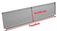 Trennelement für Fachböden H=100 mm, für Clipbefestigung