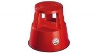 Rollhocker Step Kunststoff, rot